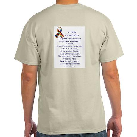 2 Sided Autism Light T-Shirt