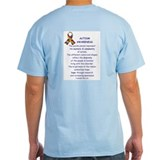 Autism ribbon Mens Light T-shirts