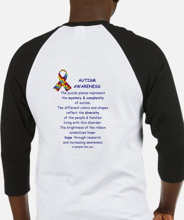 2 Sided Autism Baseball Jersey