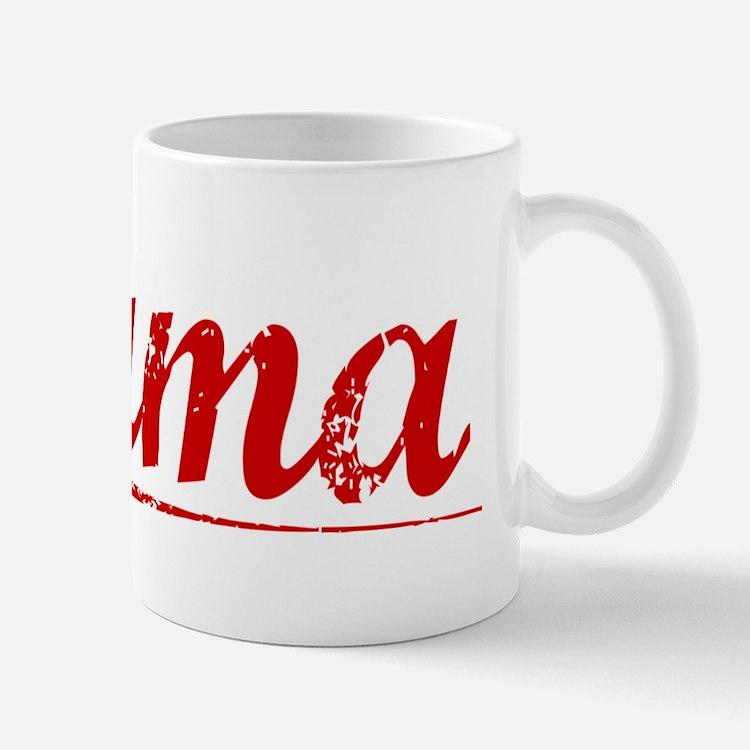 Puma, Vintage Red Mug