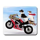 Motorcycle jack Mouse Pads