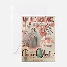 My Wild Irish Rose Greeting Card