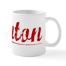 Quinton, Vintage Red Mug