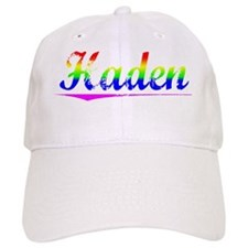 Haden, Rainbow, Baseball Cap