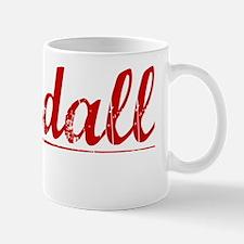 Randall, Vintage Red Mug