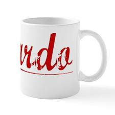Ricardo, Vintage Red Mug