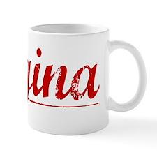 Regina, Vintage Red Mug