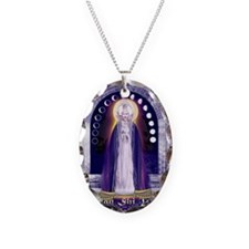 KUAN YIN WATER-MOON GODDESS BL Necklace