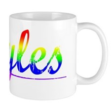 Hayles, Rainbow, Mug