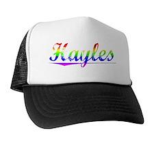 Hayles, Rainbow, Trucker Hat