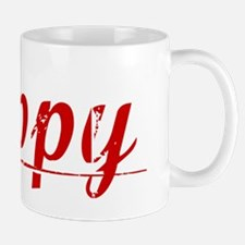 Rippy, Vintage Red Mug