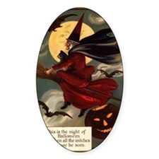 witches may be seen Decal