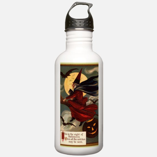 witches may be seen Sports Water Bottle