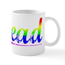 Head, Rainbow, Mug
