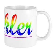 Heckler, Rainbow, Mug
