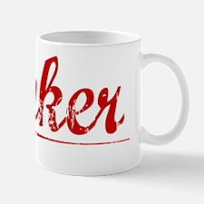 Rinker, Vintage Red Small Small Mug