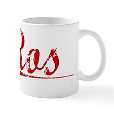 Ros, Vintage Red Mug