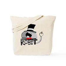 Fancy Robot Tote Bag