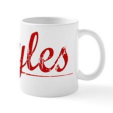 Ryles, Vintage Red Small Mug