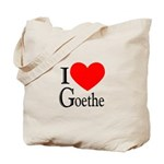 I Love Goethe Tote Bag