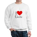 I Love Goethe Sweatshirt