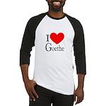 I Love Goethe Baseball Jersey