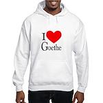 I Love Goethe Hooded Sweatshirt