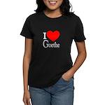 I Love Goethe Women's Dark T-Shirt