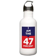 I am the 47% t-shirt Water Bottle