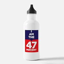 I am the 47% t-shirt Water Bottle