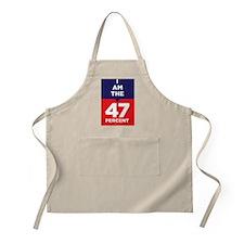 I am the 47% t-shirt Apron