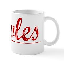 Rowles, Vintage Red Mug