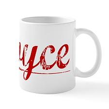 Royce, Vintage Red Mug