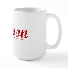 Samson, Vintage Red Mug