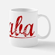Saba, Vintage Red Mug