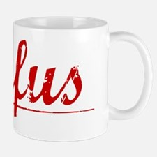 Rufus, Vintage Red Mug