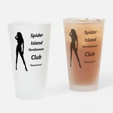 The Horrors of Spider Island Drinking Glass