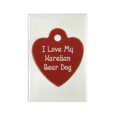 Love My Karelian Rectangle Magnet (10 pack)