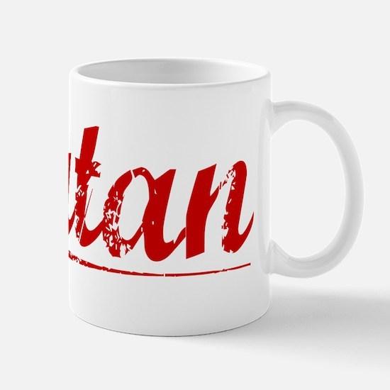 Rutan, Vintage Red Mug