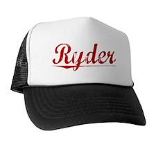 Ryder, Vintage Red Trucker Hat