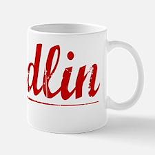 Sandlin, Vintage Red Mug