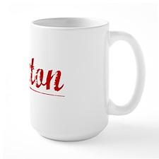 Saxton, Vintage Red Mug