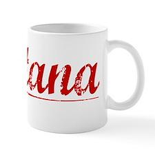Santana, Vintage Red Small Mug