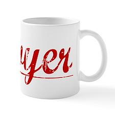 Sawyer, Vintage Red Mug