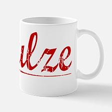 Schulze, Vintage Red Mug