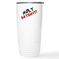 CURSES - HOLY BATSHIT! Travel Mug