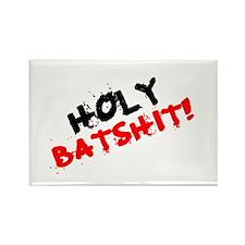 CURSES - HOLY BATSHIT! Rectangle Magnet