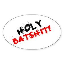 CURSES - HOLY BATSHIT! Decal