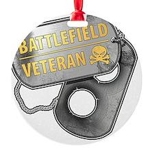 Battlefield Tags Ornament
