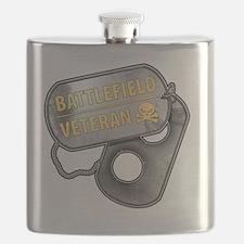 Battlefield Tags Flask